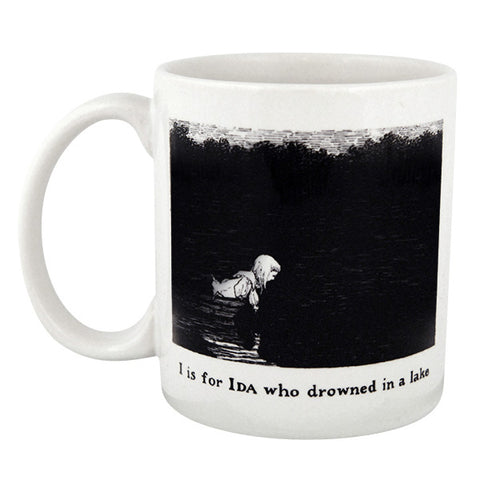 I is for Ida who drowned in a lake Mug