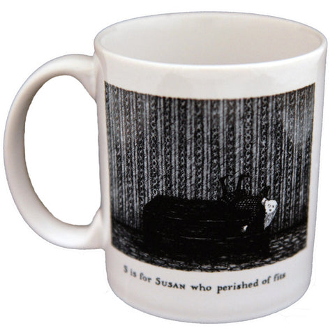 S is for Susan who perished of fits Mug