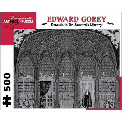 Edward Gorey Dracula in Dr. Seward's Library Puzzle