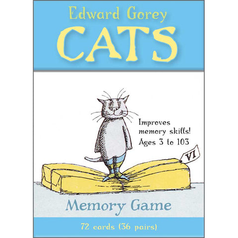 Cats Memory Game - GoreyStore