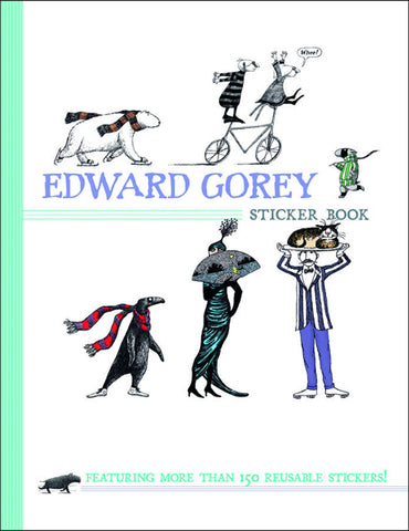Edward Gorey Sticker Book - GoreyStore