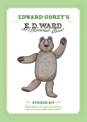 E. D. Ward: A Mercurial Bear Sticker Kit