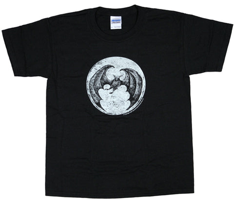 Edward Gorey Bat Moon Youth T-Shirt