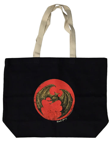 Bat Moon Tote Bag