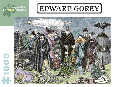 Edward Gorey, an Exhibition Puzzle