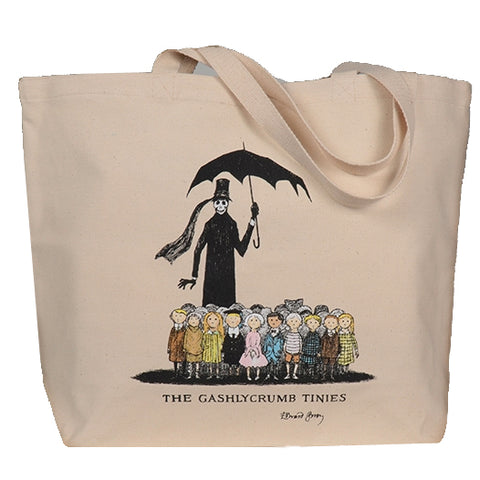 Gashlycrumb Tinies - Color Tote Bag