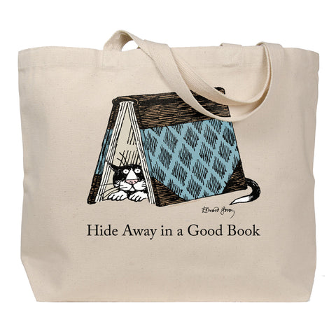 Hide Away in a Good Book Tote Bag