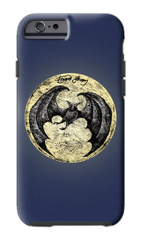 Edward Gorey Batmoon iPhone Case