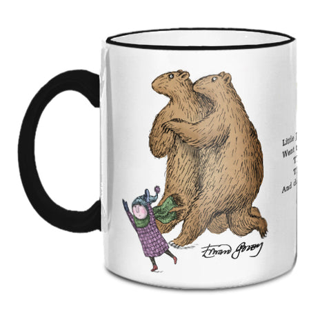 Edward Gorey Dancing Bears Mug
