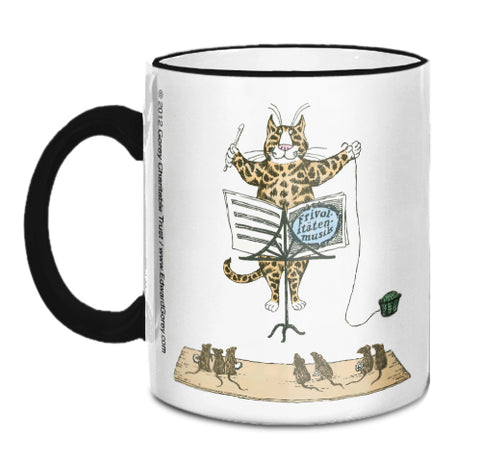 Conducting Cat Mug - GoreyStore