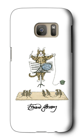 Cat Conductor Galaxy Case - GoreyStore