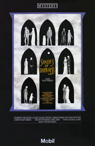 Edward Gorey Shades of Darkness Poster