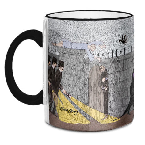 Edward Gorey Three Investigators Mug