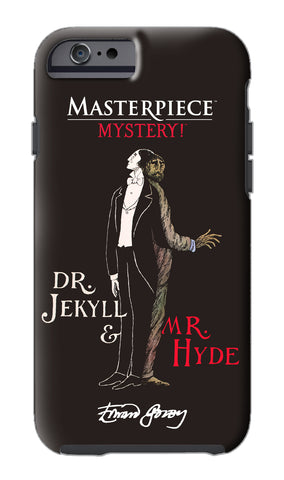 Edward Gorey Jekyll & Hyde iPhone Case