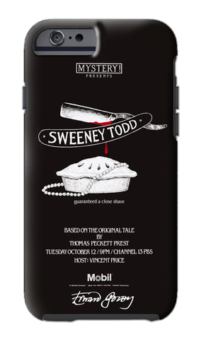 Edward Gorey Sweeney	 Todd	 iPhone Case