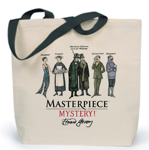 Suspects & Detective Tote Bag
