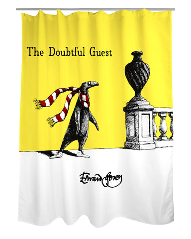 Edward Gorey Doubtful Guest Shower Curtain