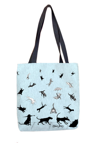 Raining Cats and Dogs Tote Bag - GoreyStore