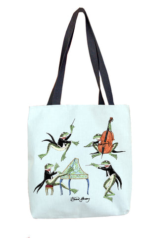 Symphony Frogs Tote Bag - GoreyStore