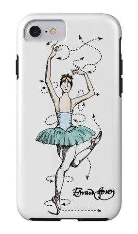 Edward Gorey Ballet Technique iPhone Case