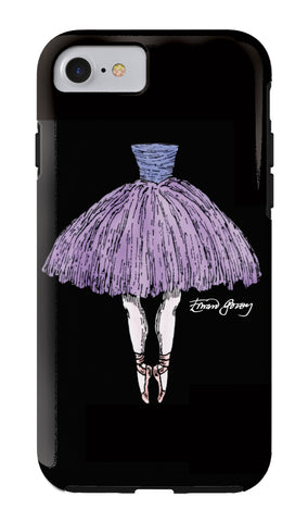 Edward Gorey Tutu iPhone Case