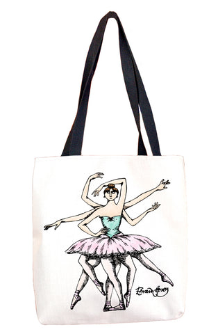 Ballet Goddess Tote Bag