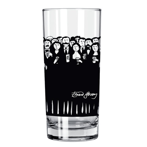 Edward Gorey Cocktail Hour Highball Glass