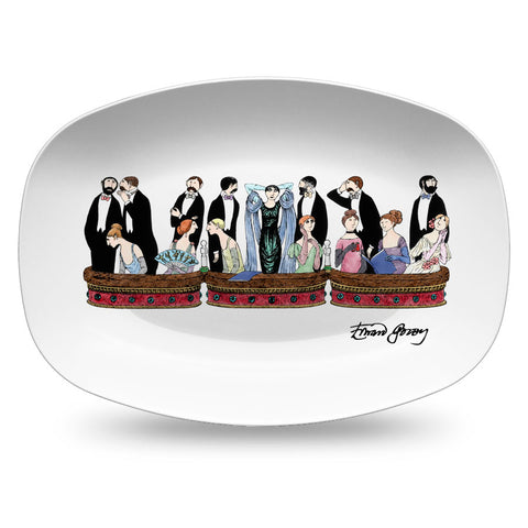 Edward Gorey Opera Resin Serving Dish