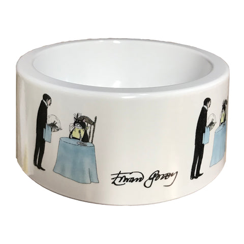 Dinner is Served Melamine Pet Bowl