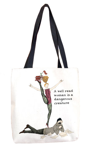 Writer's Block Tote Bag - GoreyStore