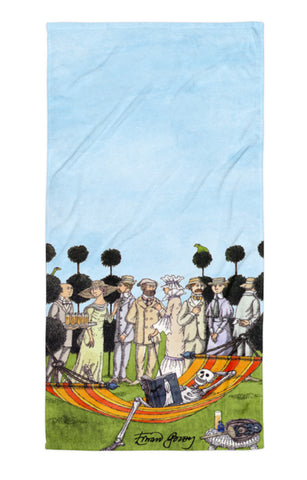 Edward Gorey Summer Reading Towel