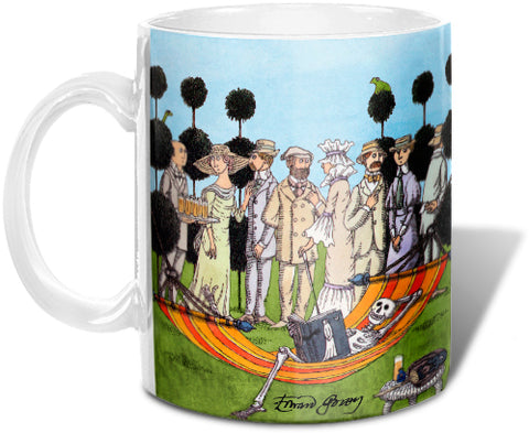 Edward Gorey Summer Reading Mug