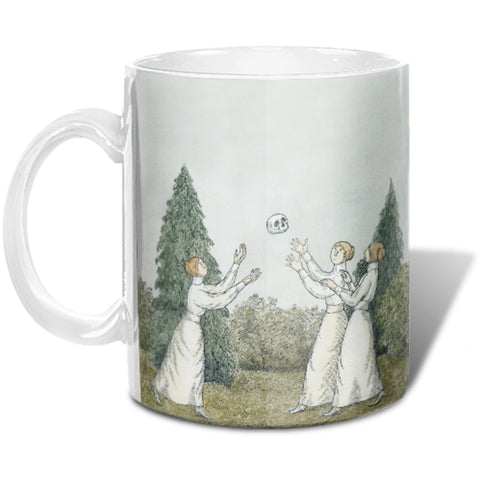 Edward Gorey Dull Afternoon Mug
