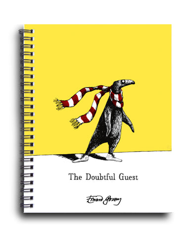 Doubtful Guest Spiral Journal - GoreyStore
