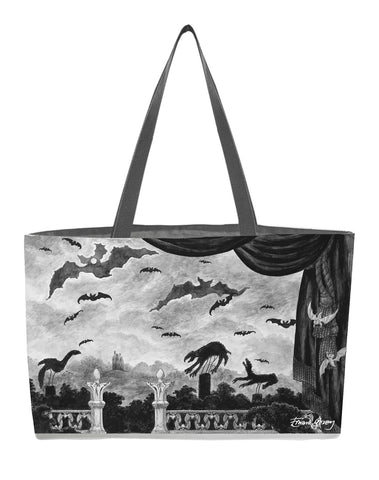Edward Gorey's Dracula Everything Tote - GoreyStore