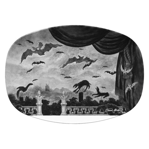 Dracula Resin Serving Dish - GoreyStore