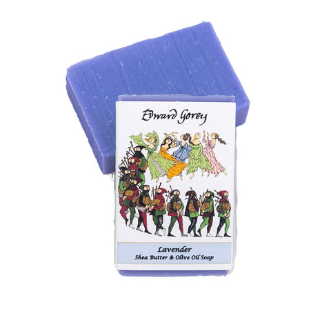 Lavender Dancers Soap Bar - GoreyStore