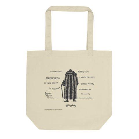 Anagrams Tote Bag - GoreyStore