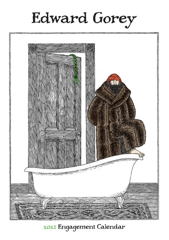 2021 Edward Gorey Engagement Calendar