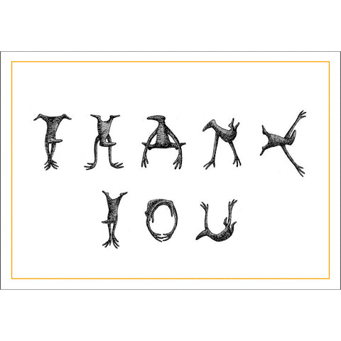Figbash Thank You Notecards - GoreyStore