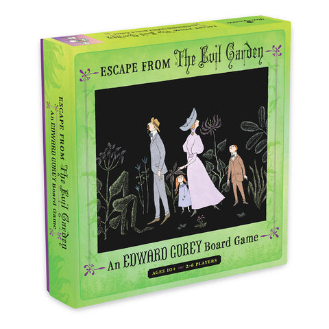 Escape from The Evil Garden Board Game