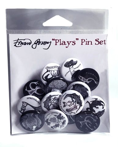 Plays Pin Set - GoreyStore