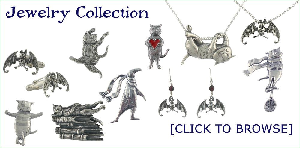Edward Gorey Jewelry