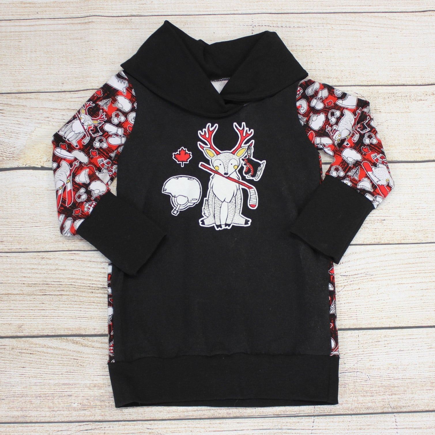 9m-3 year Hockey Deer Tunic