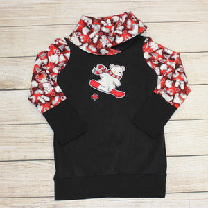 3-6 year Snowboarding Bear Tunic