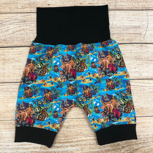 Davy Jones Bunny Bottom Shorts