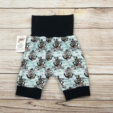 Smooth Sea Anchors Bunny Bottom Shorts