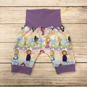 Princess Hearts Bunny Bottom Shorts