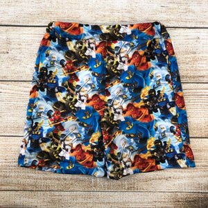 Ninja Block Swim Trunks