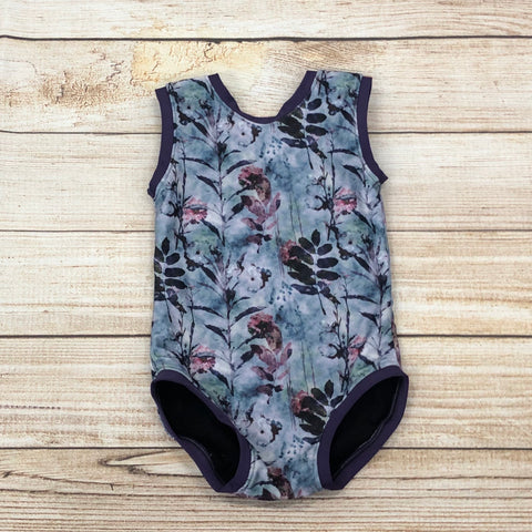 Pressed Floral Swim Suit